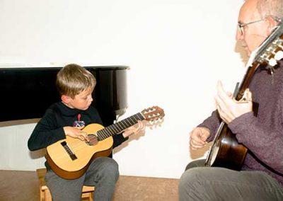 alumne de guitarra